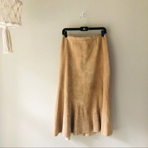 Chico's Nude Skirt Size 1